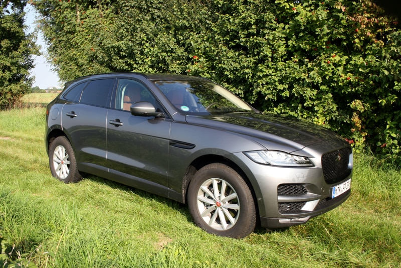 Jaguar F-Pace 30d AWD Test