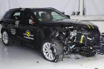Range Rover Velar Crashtest