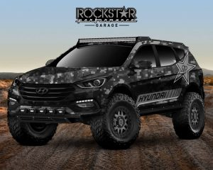 SEMA SHOW Hyundai Santa Fe Rockstar Energy Moab Extreme Concept