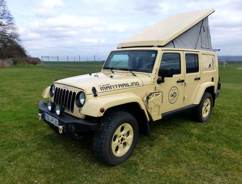 jeep wrangler unlimited reisemobil umbau 4x4news home. Black Bedroom Furniture Sets. Home Design Ideas