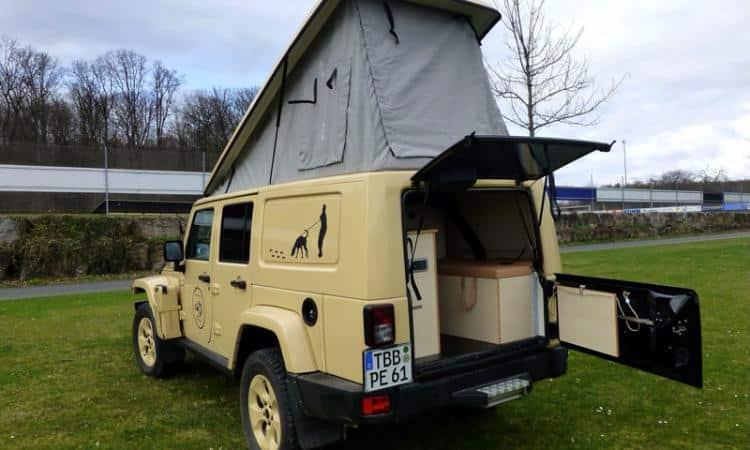 Jeep Wrangler Unlimited Reisemobil Umbau