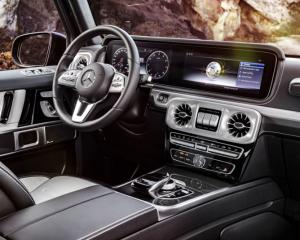 Die neue Mercedes-Benz G-Klasse: Exklusiver Innenraum