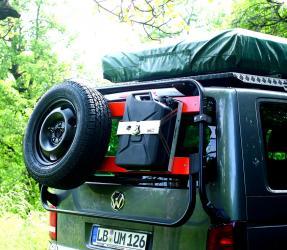VW Bus Heckklappenträger