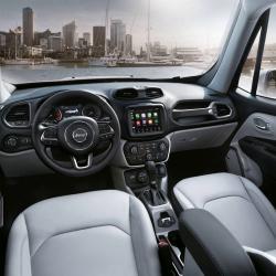 Jeep Renegade Innenraum Modell 2018