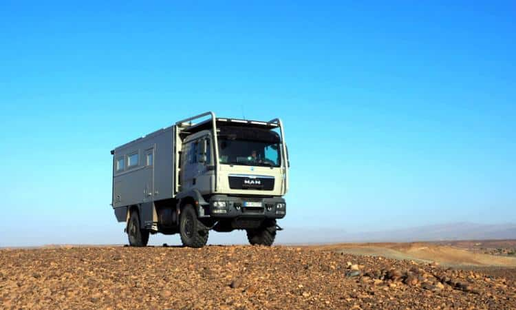 Off Road Reisemobil Unicat MD57 MAN TGM 4x4