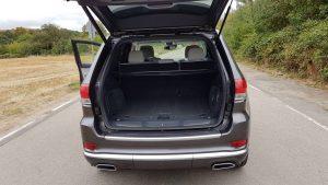 Jeep Grand Cherokee Innenraum Kofferraum