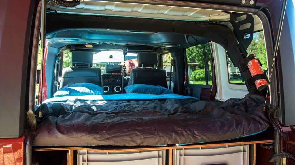 Jeep Wrangler Reisemobil Umbau