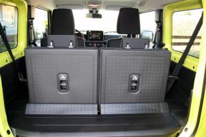 Neuer Suzuki Jimny 2019 Innenraum