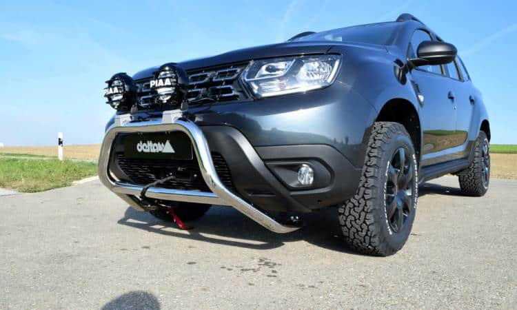 dacia duster offroad umbau 4x4news home. Black Bedroom Furniture Sets. Home Design Ideas
