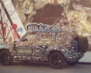 Neuer Land Rover Defender 2020