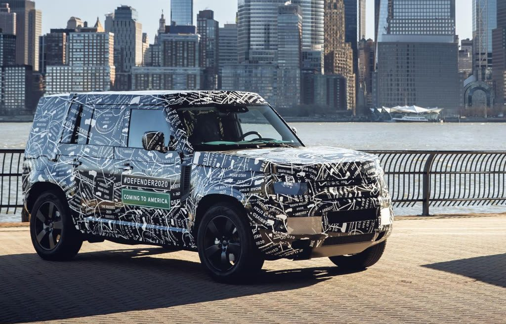 Land Rover Defender 2020 Front