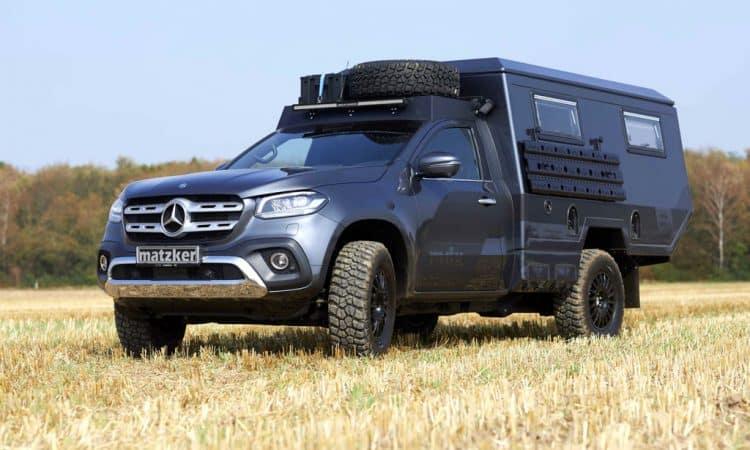 Mercedes X-Klasse Off Road Wohnmobil Umbau