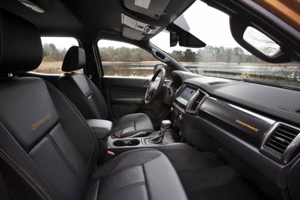 2019 Ford Ranger Wildtrak Innenraum
