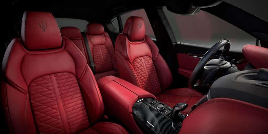 Maserati Levante Vulcano Innenraum