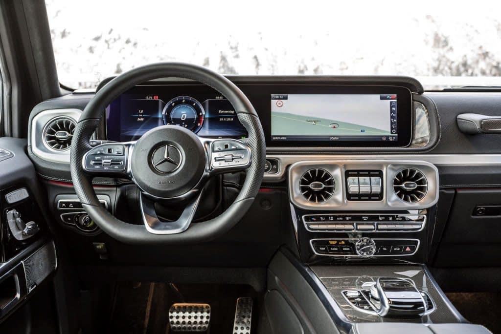 Neuer Mercedes-Benz G 350 d Innenraum