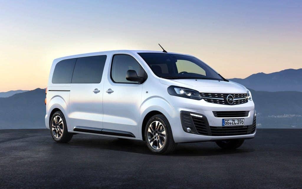Opel Zafira Life Allrad Van