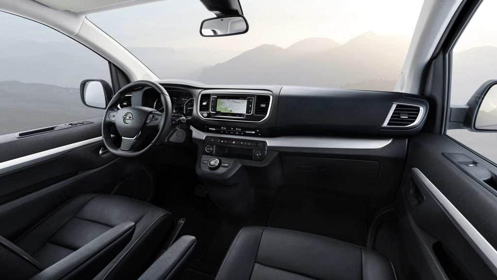 Opel Zafira Life Allrad Van Innenraum