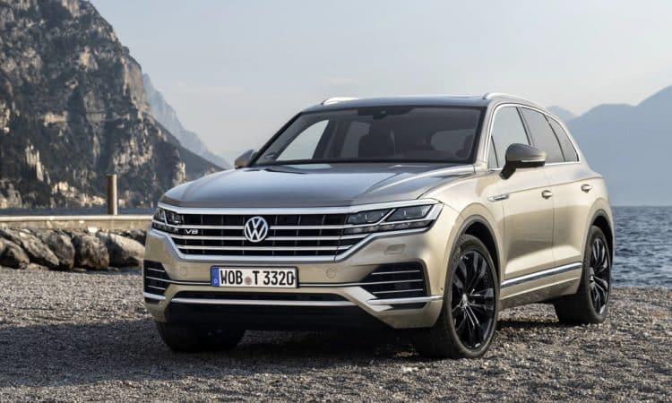 Neuer VW Touareg V8 TDI