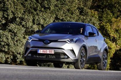 Toyota C-HR Hybrid Probefahrt