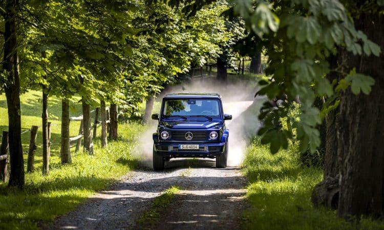 Probefahrt im Mercedes Benz G400d 002