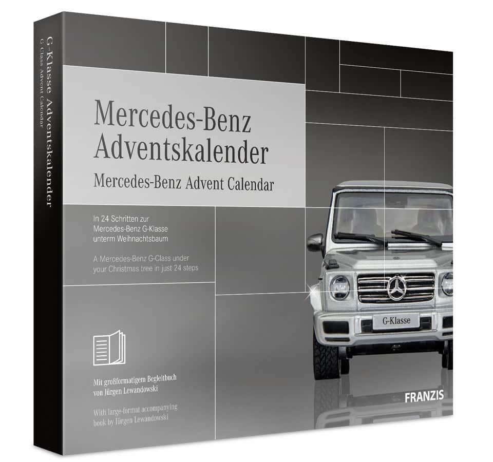 FRANZIS Mercedes Benz G Klasse Adventskalender