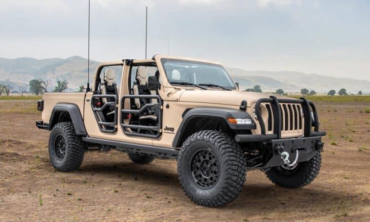 Power Off Roader für die Army: Jeep Gladiator Extreme Military-Grade Truck