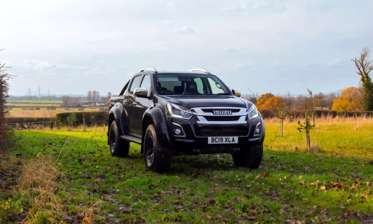 Isuzu D Max Arctic Trucks AT35 001