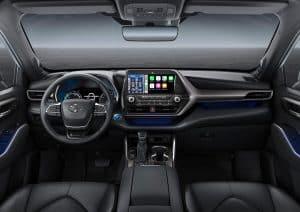 Toyota Highlander Hybrid Cockpit