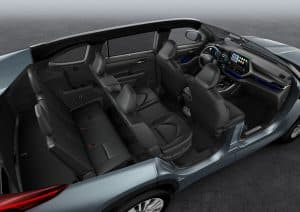 Toyota Highlander Hybrid Innenraum