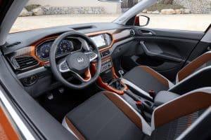 VW T-Cross Style 1.0 TSI Test Innenraum