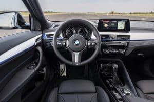 BMW X2 Plugin-Hybrid Innenraum