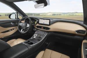 Hyundai Santa Fe 2020 Innenraum