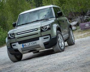 Land Rover Defender 110 Probefahrt