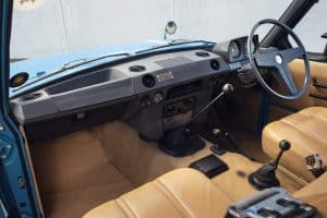 Range Rover I Innenraum