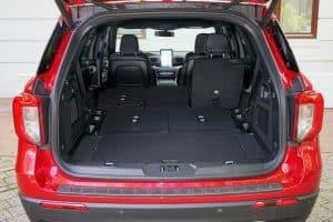 Ford Explorer Plug-in-Hybrid Probefahrt Innenraum