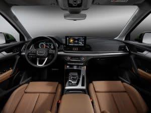 Audi Q5 Modelländerungen Innenraum