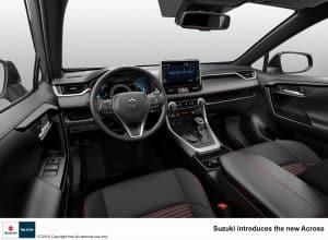 Suzuki Across Innenraum