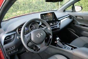 Toyota C-HR Cockpit