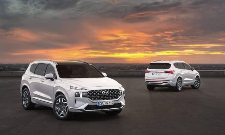 Hyundai Santa Fe Modelländerungen