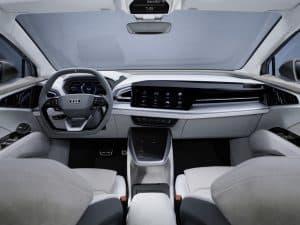 Audi Q4 Sportback e-tron Innenraum