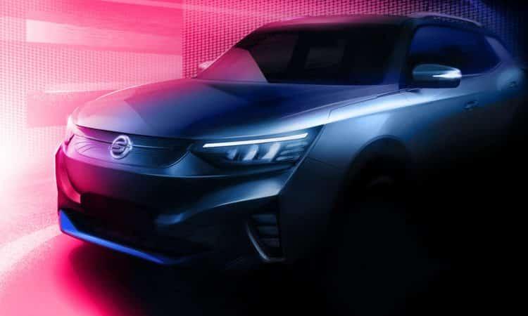 Ssangyong Elektro-SUV