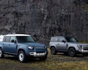 Land Rover Defender mit Hardtop
