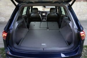 VW Tiguan Testfahrt Innenraum