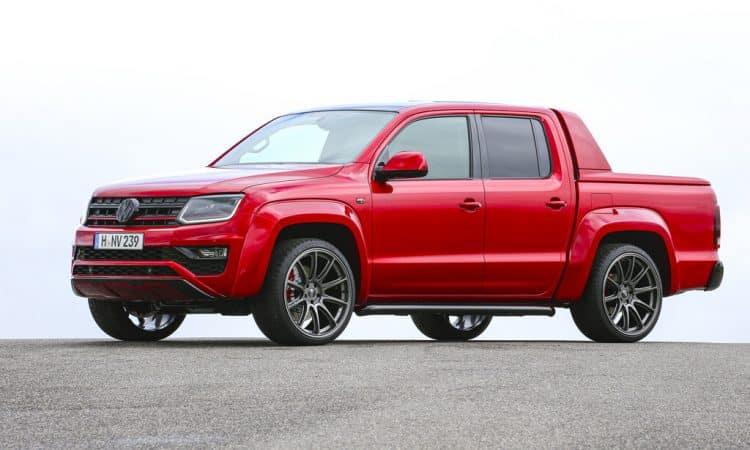 VW Red Amarok