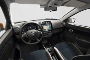 Dacia Spring Electric Innenraum