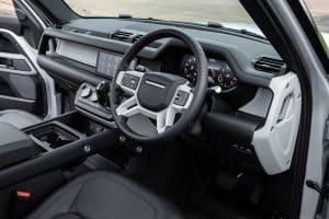 Land Rover Defender 90 Innenraum