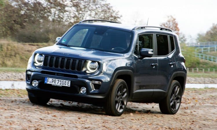 Jeep Renegade 4xe Test