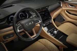 Jeep Grand Cherokee L Innenraum