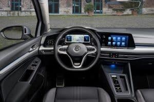 VW Golf 8 Variant Alltrack 2.0 TDI Innenraum