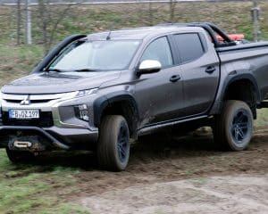 Mitsubishi L200 Off Road Test